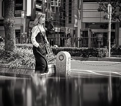 Reflection (Bill Morgan) Tags: fujifilm fuji xpro2 35mm f2 bw alienskin exposurex4 silverefexpro