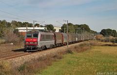 Retour d'Italie pour la BB 26227 (elise_vdbrc) Tags: locomotive lagarde var chemindefer fret vintimille miramas bb26000 railway france sncf train