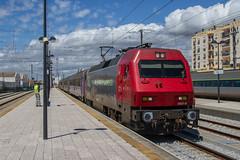 Algarve Electric (mattjspencer) Tags: train railway portugal comboiosdeportugal cp electric loco locomotive