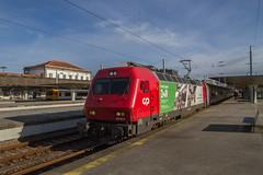 Sunny Intercidades (mattjspencer) Tags: train railway portugal comboiosdeportugal cp electric loco locomotive