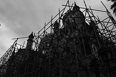 Dark City : Ruined Faith (Storyteller.....) Tags: blackandwhite blackwhite city dark ruins ruined church