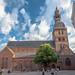 Riga Cathedral, North Elevation