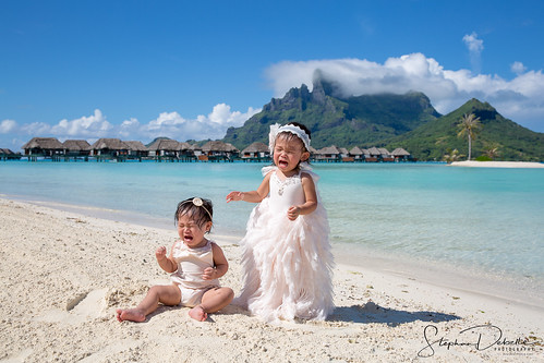 Family Shoot - The Four Seasons - Bora Bora