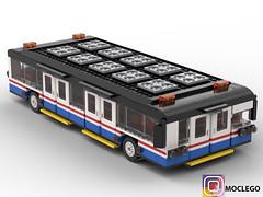 Van Hool AP2375 (Biggest bus in the world) use for airport in Algeria (numerikart) Tags: bus van hool biggest airport passenger legocity lego legominigifs legobuiding moclego moc afol alof