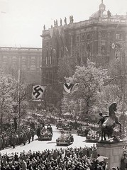 Adolf Hitler on the Wien Ringstrasse heading to the parliament after the Anschluß, 1938 (Troy-Tempest) Tags: adolfhitler hitler 1938 wien anschlus nsdap thirdreich