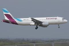 D-ABHG / Airbus A320-214 / 2867 / Eurowings (A.J. Carroll (Thanks for 1 million views!)) Tags: dabhg airbus a320214 a320200 a320 320 2867 cfm565b4p eurowings dqkl 3c4907 london heathrow lhr egll 09l