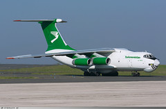 Ilyushin IL-76 TD Turkmenistan Airlines EZ-F426 (Clément W.) Tags: ilyushin il76 td turkmenistan airlines ezf426 lfok xcr