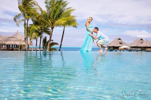 Jamie & Jordan - The Conrad Bora Nui