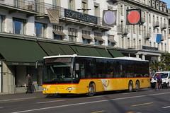 2014-11-19, Die Post, Luzern, Schweizerhof (Fototak) Tags: autobus bus carpostal diepost luzern switzerland ligne73