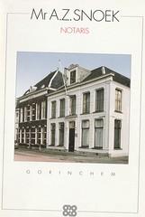 Omslag Notaris Snoek (Barry van Baalen) Tags: gorcum gorinchem gorkum notaris snoek