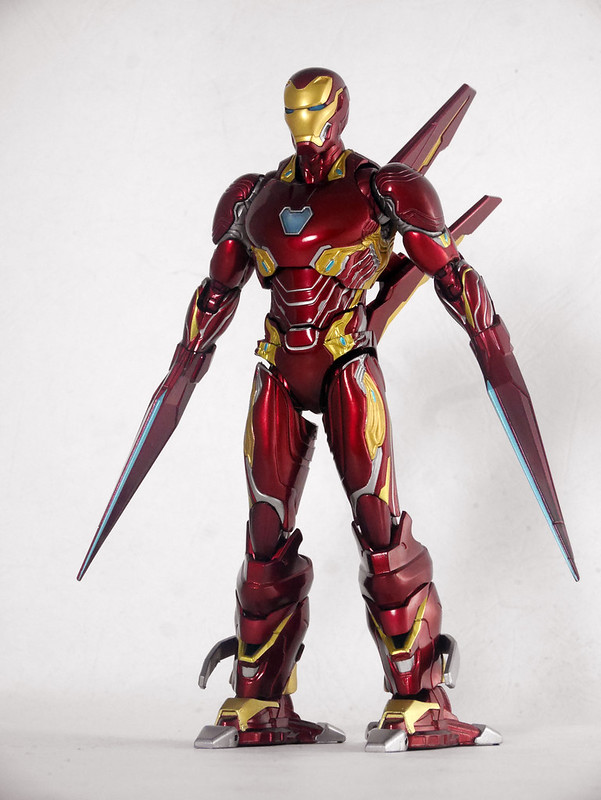 [S.H.Figuarts]Iron Man MK-50 Nano Weapon Set