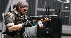 Venom Snake with AK-74M assault rifle (kevchan1103) Tags: wjl toys disguiser metal gear solid v 5 the phantom pain venom snake big boss mgs mgsv mgsvtpp tpp custom action figure