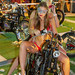 Beautiful girls at Phuket Bike Week 2019, Patong beach, Thailand