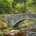 Stone bridge near Gibson Mill