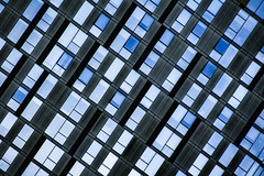 (jfre81) Tags: chicago illinois il river west city urban building architecture pattern abstract blue black white james fremont photography jfre81 canon rebel xs eos
