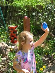Easter Egg Hunt 2019 (rudyg39) Tags: backyard easteregghunt easter isla family