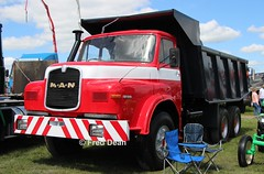MAN 32.240 Tipper Truck. (Fred Dean Jnr) Tags: waterfordtruckmotorshow waterford tramoreracecourse tramore truck lorry may2019 tippertruck man 32240