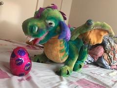 Cecil's Chocolate Dragon Egg (plushloverau) Tags: cute dragon melissa doug plush plushie roar beautiful collection toy toys lover au plushloverau colourful