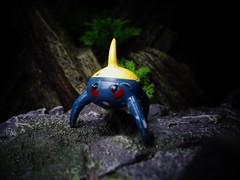 Surskit (ridureyu1) Tags: pokemon pocketmonster nintendo jfigure toy toys actionfigure toyphotography sonycybershotsonycybershotdscw690