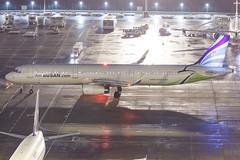 AIR BUSAN A321-231(WL) HL7211 001 (A.S. Kevin N.V.M.M. Chung) Tags: aviation aircraft aeroplane airport airlines airbus plane apron macauinternationalairport mfm spotting beacon raining a321 a321ceo