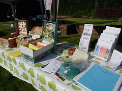 RFGN at Bean Pole Day, 13 April 2019 (1) (karenblakeman) Tags: caversham uk april 2019 beanpoleday cavershamcourtgardens readingfoodgrowingnetwork rfgn seedswap reading berkshire