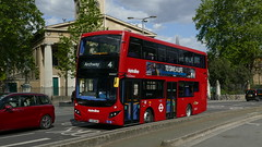 Not Long Left Here (londonbusexplorer) Tags: metroline travel volvo b5lh mcv evoseti vmh2571 la61dwv waterloo archway tfl london buses 4