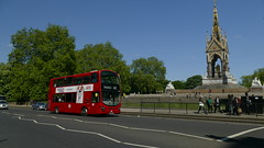 Towering Near The Memorial (londonbusexplorer) Tags: tower transit volvo b9tl wrightbus gemini 2 vn37961 bn61mxl 452 kensal rise vauxhall tfl london buses