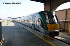 22009+22050 at Connolly, 29/3/19 (hurricanemk1c) Tags: railways railway train trains irish rail irishrail iarnród éireann iarnródéireann dublin connolly 2019 22000 rotem icr rok 3pce 22009