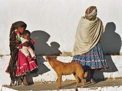 Tarahumara shapes with dog (Caravanserai (The Hub)) Tags: tarahumara raramuri mexico sierramadre chihuahua
