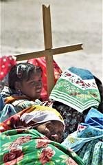 Tarahumara color and cross (Caravanserai (The Hub)) Tags: tarahumara raramuri mexico sierramadre