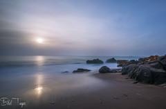April seascape (Bilel Tayar) Tags: sky sea sealife seascape beach beautiful rock rocks rocheux roche plage longexposure sand sable mer printemps spring mediteranée mediteranean algeria algerie ainachir annaba bileltayar nikon nikond5200 sigma1020 sigma
