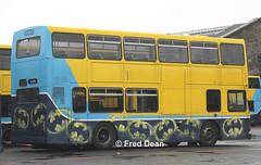 Dublin Bus RV606 (99D606). (Fred Dean Jnr) Tags: dublinbusyellowbluelivery busathacliath dublinbus volvo olympian alexander r rv606 99d606 broadstonedepotdublin february2013 broadstone buseireannbroadstonedepot dublin