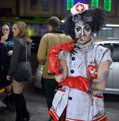 BIOHAZARD (Peter Jennings 36 Million+ views) Tags: biohazard hyper queen drag phoenix entertainment auckland new zealand peter jennings nz hugo grrrl night nurse