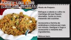 Low Carb Receitas Livro Farofa Low Carb (Lowcarb Receitas) (Tipos de Dieta) Tags: ifttt youtube dieta e saúde