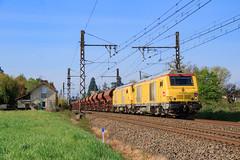 818858-St-Germain-au-Mont-d'Or--)Mâcon-Ville (AziroxY) Tags: trains trainspotting train bb75000 infra soleil plm photo photographie photosncf prima trémie