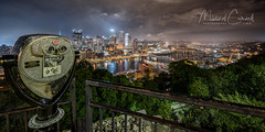 A Grand View (Theaterwiz) Tags: mtwashington grandview pittsburghskyline pittsburgh theaterwiz southshore overlook