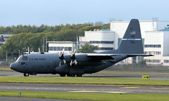 91-1232 (PrestwickAirportPhotography) Tags: prestwick airport united states air force lockheed hercules c130h 911232 kentucky national guard egpk