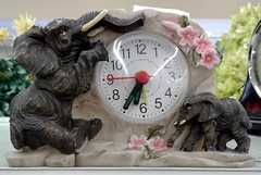 Eléphants (J. Trempe 3,890 K hits - Merci-Thanks) Tags: horloge clock temps time hour heure elephant