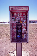 Phone (Past Our Means) Tags: phone fuji fujifilm fujichrome arizona sticker stickers travel summer 2018 desert wanderlust film filmisnotdead filmphotography filmsnotdead no filter nofilter rest stop canon ae1 canonae1 adventures adventure colors fun transparency analog analogue analouge istillshootfilm 100 35mm 28mm velvia velvia100 booth phonebooth