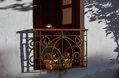 Juego de luces y sombras... (Irene Carbonell) Tags: balcones calles colonia uruguay uruguaynatural 50mm nikon veredas