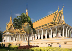 Views in the Royal Palace Phnom Penh
