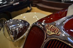 Delahaye 135M Cabriolet Dubos 1937 (Monde-Auto Passion Photos) Tags: voiture vehicule auto automobile delahaye 135m cabriolet convertible roadster spider bicolore ancienne classique rare rareté vente enchère osenat france fontainebleau