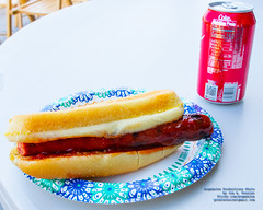 BBQ Hot Dog and Coca-Cola (AvgeekJoe) Tags: 1835mmf18dchsm bbq cocacola d5300 dslr hotdog nikon nikond5300 sigma1835mmf18 sigma1835mmf18dchsmart sigma1835mmf18dchsmartfornikon sigmaartlens food foodphotography soda