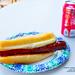 BBQ Hot Dog and Coca-Cola