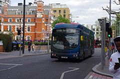 IMGP9389 (Steve Guess) Tags: bermondsey london england gb uk bus southwark wright hydrogen routerv1 aoa advert livery foresight lj13jwp tooleystreet