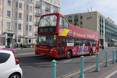 IMGP8965 (Steve Guess) Tags: brighton west sussex england gb uk bus brightonhove hove goahead city sightseeing open top topper topless seafront 616 gx03ssv