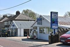 Alston Road Garage, Middleton in Teesdale County Durham. (EYBusman) Tags: eybusman dealer ford independent durham county teesdale middleton gasoline gas station service filling petrol garage road alston