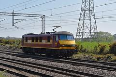 90035 (Martin's Online Photography) Tags: class90 90035 dbcargo ews train electric loco rail raileway actonbridge cheshire nikon nikond7200