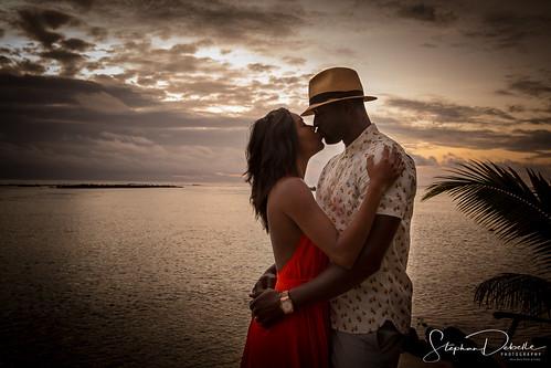 Dwyane Wade & Gabrielle Union ~ Bora Bora