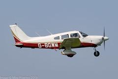 G-BGWM - 1979 build Piper PA-28-181 Cherokee Archer II, departing from Runway 08L at Barton (egcc) Tags: 287990458 archer barton cherokee cityairport egcb gbgwm lightroom manchester n2817y pa28 pa28181 piper thamesvalleyflyingclub